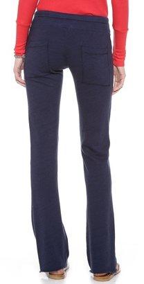 Splendid Space Dyed Heather Wide Leg Sweatpants