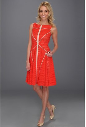 Vince Camuto Sleeveless Fit & Flare Dress