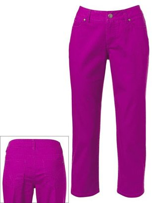 Sonoma life + style color skinny crop jeans