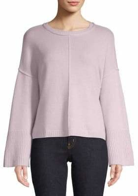 Autumn Cashmere Long-Sleeve Cashmere Sweater