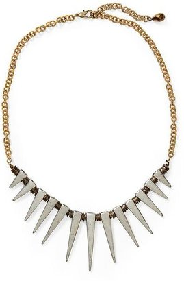 Vince Hive & Honey Spike and Coil Statement Necklace