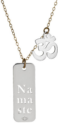 Namaste Miriam Merenfeld Jewelry and Om Symbol Tags Necklace