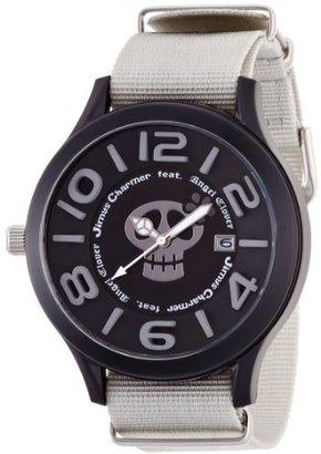 Angel Clover (エンジェル クローバー) - [エンジェルクローバー]Angel Clover 腕時計 JimysCharmerコラボモデル ブラック文字盤 ポリカーボネイトケース ナイロンベルト デイト LC48JCBK メンズ