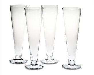 Williams-Sonoma Williams Pilsner Glasses, Set of 4