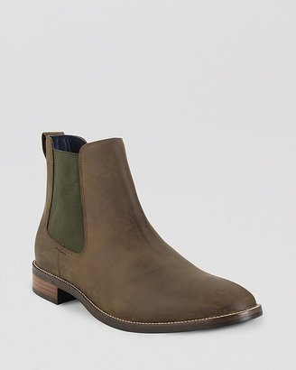 Cole Haan Lenox Hill Leather Chelsea Boots