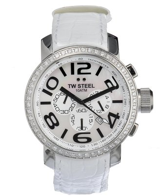 TW Steel Unisex TW54 Diamond Chronograph Watch