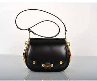 Hermes pristine (PR Nior Box Leather Sac Passe Guide Bag Gold Hardware