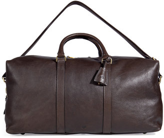 Mulberry Chocolate Small Clipper Weekender