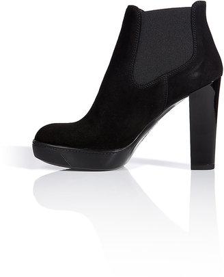 Hogan Nubuck Ankle Boots