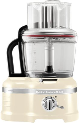 KitchenAid 4L Artisan Almond Cream Food Processor