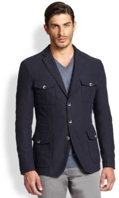 BOSS Marquard Cotton/Wool Slim-Fit Blazer