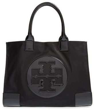 Tory Burch 'Ella' Nylon Tote - Black $195 thestylecure.com