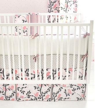 Little Birdie Baby Bedding in Pink