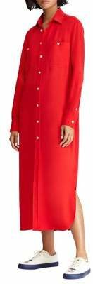 Polo Ralph Lauren Long Sleeve Shirt Dress