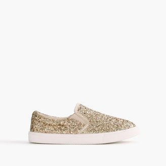 Girls' slide sneakers in glitter $68 thestylecure.com