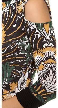 Suno Knit Jacquard Pencil Dress