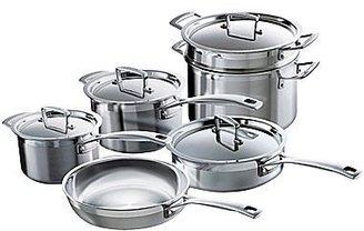 Le Creuset 10-pc. Tri-Ply Stainless Steel Cookware Set