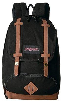 JanSport Baughman (Black Canvas) Backpack Bags