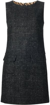 Dolce & Gabbana checked sleeveless dress