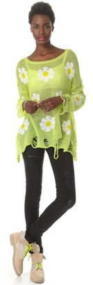 Wildfox Couture Daisy Fest Sweater