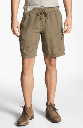 Vilebrequin Linen Cargo Bermuda Shorts