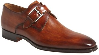 Magnanni Marco Plain Toe Monk Shoe