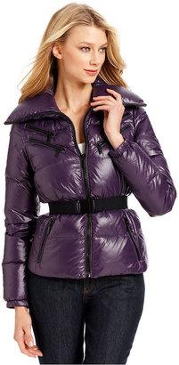 MICHAEL Michael Kors Jacket, Zipped Puffer