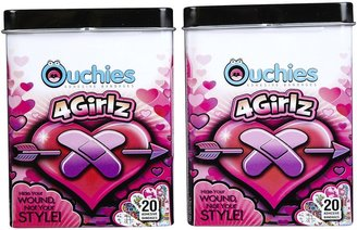 Safety First Ouchies Bandages 4 Girlz - 40 ct