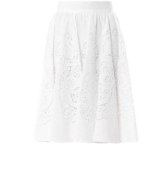 Dolce & Gabbana Broderie-anglaise skirt