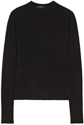 The Row Ghent fine-knit cashmere and silk-blend sweater