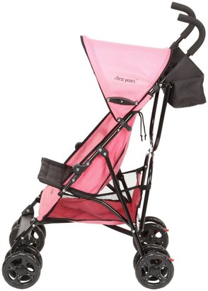 The First Years Jet Stroller - Pop of Pink (Pink & Black)