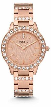 Fossil Women's Jesse Quartz Stainless Steel Dress Watch