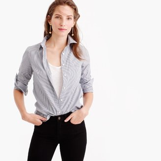 Everyday shirt in striped poplin $69.50 thestylecure.com