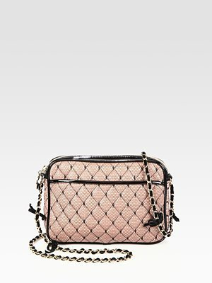 RED Valentino Quilted Point D'Esprit Crossbody