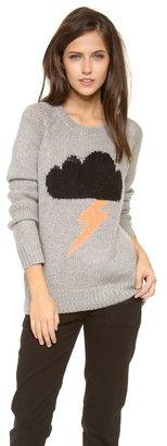Elizabeth and James Raincloud Intarsia Sweater