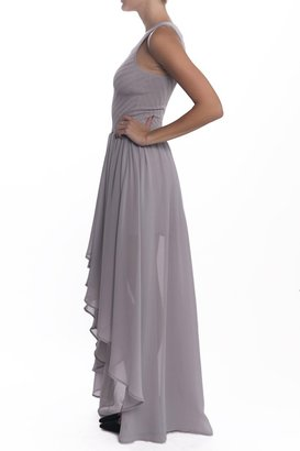 Torn By Ronny Kobo Renea Dress - Grey