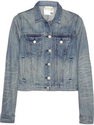 Rag and Bone Rag & bone Washed-denim jacket