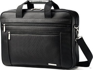 "Samsonite Classic Two Gusset 17"" Toploader $120 thestylecure.com"
