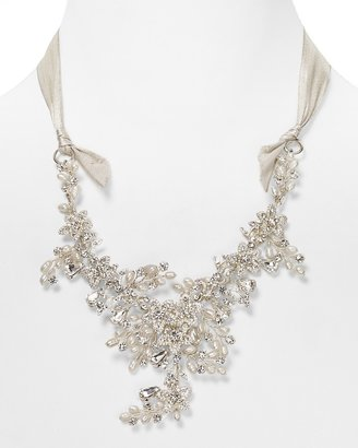 """Fallon FOREVER by Crystal Cluster Silk Necklace, 24"""""""