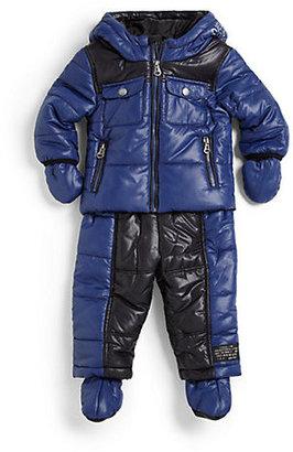 Diesel Infant's Four-Piece Puffer Snowsuit