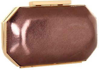 Badgley Mischka Gwyne Clutch (Bronze) - Bags and Luggage