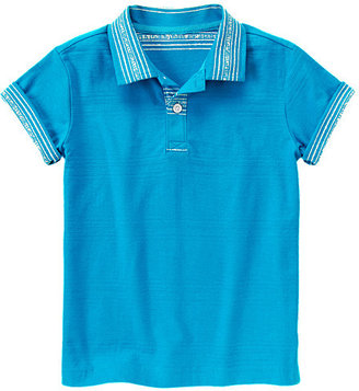 Gymboree Striped Collar Polo Shirt