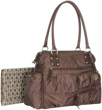 Carter's Shirred Front Pocket Duffle Diaper Bag