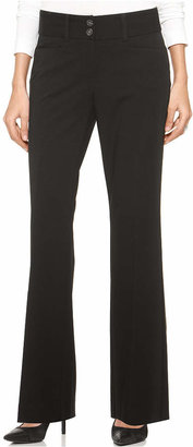 Alfani Two-Button Curvy-Fit Pants, Only at Macy's $39.98 thestylecure.com