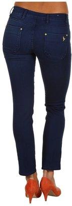 MiH Jeans Paris Mid-Rise Cropped Slim Leg in Christie (Christie) - Apparel