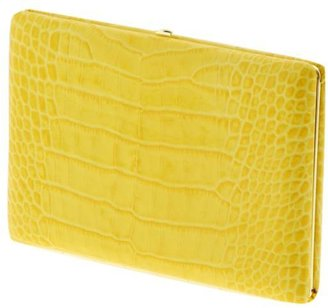 Abas Patent Croco Full Frame Clutch
