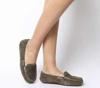 UGG Ansley Slippers Chocolate Suede