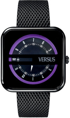 Versus By Versace Watch, Unisex Kyoto Black Technical Material Strap 40mm SGH01 0013