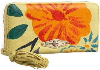 Elliott Lucca Sintra Painted Leather Wallet