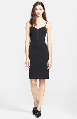 Alexander Wang Mesh Detail Bustier Dress